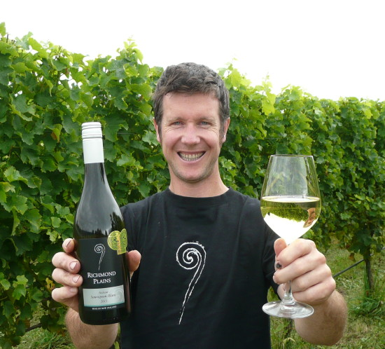 Steve Gill Richmond Plains Winemaker
