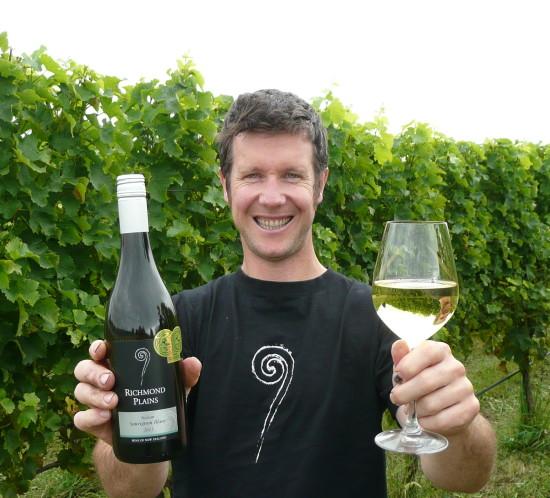 Steve Gill Richmond Plains Winemaker